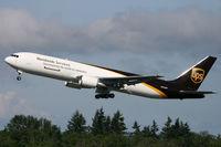 N340UP @ KPAE - KPAE Boeing 271 departs for a KPAE-KPAE test flight