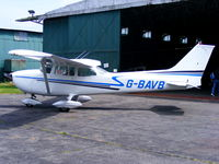 G-BAVB @ EGBO - privately owned - by Chris Hall