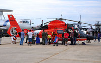 6563 @ KADW - Coast Guard HH-65C at Andrews AFB Open House '10. - by TorchBCT