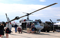 158268 @ KADW - HMLA-467 Huey on display at Andrews AFB Open House '10. - by TorchBCT
