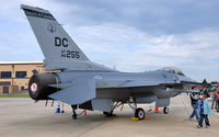 86-0255 @ KADW - 121st FS F-16 on display at Andrews AFB Open House '10. - by TorchBCT