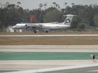 N434MK @ LAX - Landing on runway 24R - by Helicopterfriend