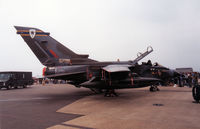 ZG725 @ MHZ - Tornado GR.1A of 13 Squadron at RAF Marham on display at the 1991 Mildenhall Air Fete. - by Peter Nicholson