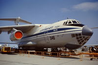 CCCP-76500 @ LFPB - Show #346. Aeroflot's Il-76 on display at the Paris Air Show. Le Bourget June 1977 - by Roger Winser