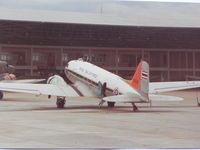 2100536 @ DMK - Royal Thai AF, Don Muang Airport.  Scan from photo taken in Jul 1982 - by Henk Geerlings