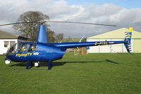 G-PIXL @ X5FB - Robinson R44 Raven ll at Fishburn Airfield, UK in - by Malcolm Clarke