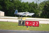 N1031M @ LAL - Arriving at Lakeland, Florida during Sun N Fun 2010. - by Bob Simmermon