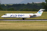 S5-AAJ @ LOWW - Adria Airways 2004 Bombardier Canadair CL-600 2B19 CRJ-200ER, c/n: 8010
