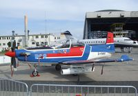 D-FKMT @ EDDB - Pilatus PC-9B of E.I.S. Aircraft (target services for German armed forces) at the ILA 2010, Berlin - by Ingo Warnecke