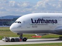 D-AIMA @ EDDF - Lufthansa Frankfurt am Main; Airbus A380-841, c/n: 038