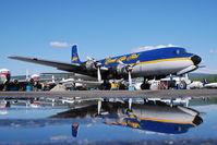 N451CE @ FAI - Everts Air Fuel Douglas DC6 - reflection - by Dietmar Schreiber - VAP