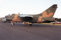 15509 @ EGQL - A-7P Corsair. callsign AFP 2743A, of 302 Esquadron Portuguese Air Force on display at the 1997 RAF Leuchars Airshow. - by Peter Nicholson