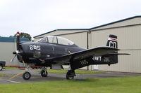 C-GTTI @ CYYJ - North American T-28B - by Mark Pasqualino