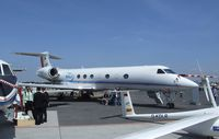 D-ADLR @ EDDB - Gulfstream G V SP (G550) HALO research aircraft of the DLR at ILA 2010, Berlin - by Ingo Warnecke