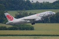 OE-LEK @ VIE - NIKI Airbus A319-112