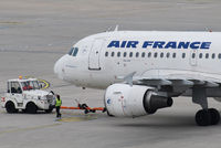 F-GRHN @ VIE - Air France Airbus A319-111