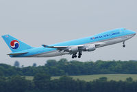HL7438 @ VIE - Korean Air Cargo Boeing 747-4B5ERF
