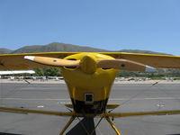 N1017U @ SZP - 1939 Bucker Jungmann C.A.S.A. 1.131, Lycoming O-360 180 Hp, Sensenich wood prop - by Doug Robertson
