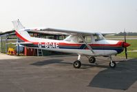 G-BGAE @ EGSF - Cessna F152 II at Peterborough Conington Airfield in March 2007. - by Malcolm Clarke
