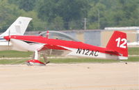 N12AC @ KDPA - Carroll Alan R VANS RV-8 on the ramp KDPA. - by Mark Kalfas