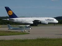 D-AIMA @ EDOP - Airbus A380 (D-AIMA) Lufthansa - by wollex