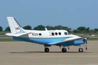 N20 @ AFW - FAA King Air at Alliance Airport, Ft. Worth, TX