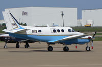 N19 @ AFW - FAA King Air at Alliance Airport, Ft. Worth, TX