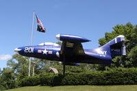 123557 - Grumman F9F-2 - by Mark Pasqualino