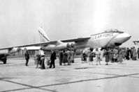 52-119 @ EGVN - Boeing B-47 Stratojet at an Open Day at RAF Brize Norton in the 1950's. - by Malcolm Clarke