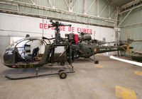57 - Preserved Alouette II in this new aeronautical Museum near Lyon... - by Shunn311