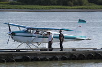 C-GYIX @ CYVR - Cessna A185F - by Mark Pasqualino