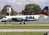 LV-BEW @ SABE - Landing on RWY 13. - by Jorge Molina