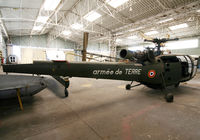 1676 - S/n 1412 - Preserved Alouette III in this small new French Museum near Lyon... - by Shunn311