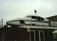 G-BHNG - This Aztec ended its life in a scrapyard in Seaford East Sussex  (old scanned print) - by Andy Parsons