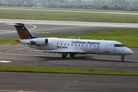 D-ACRN @ EDDL - Eurowings, Canadair CL-600-2B19 Regional Jet CRJ-200LR, CN: 7486 - by Air-Micha