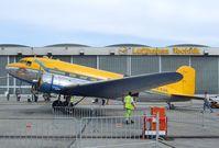 9Q-CUK @ EDDB - Douglas C-47B-35-DK at ILA 2010, Berlin