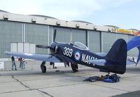 F-AZXL @ EDDB - Hawker Sea Fury T Mk 20 at ILA 2010, Berlin