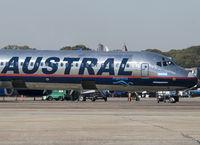 LV-BTW @ SABE - Ex XA-AMS with Aeroméxico. - by Jorge Molina