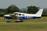 G-BOKX @ EGKH - SHOT AT HEADCORN - by Martin Browne