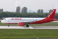 D-ALTB @ EDDL - Air Berlin, Airbus A320-214, CN: 1385 - by Air-Micha