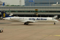SE-RAE @ EGCC - City Airlines EMB145 at Manchester