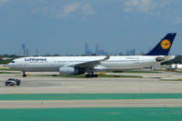 D-AIKD @ KORD - Airbus A330-343, c/n: 629 of Lufthansa at Chicago O'Hare
