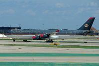 JY-AIA @ KORD - Royal Jordanian Airbus A340-211, c/n: 038 at Chicago O'Hare