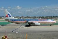 N808NN @ KORD - American Airlines Boeing 737-823, c/n: 33206 at home base