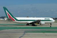 EI-CRF @ KORD - Alitalia Boeing 767-31B, c/n: 25170 at Chicago O'Hare