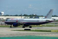 N264AV @ KORD - USA 3000 2002 Airbus A320-214, c/n: 1867 at Chicago O'Hare