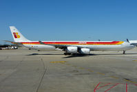 EC-IZX @ KORD - Iberia's Airbus A340-642, c/n: 601 at Chicago O'Hare