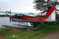 N4968A @ LHD - 1956 Cessna 180, c/n: 32365 at Lake Hood