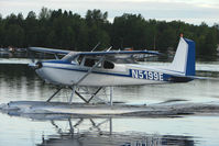 N5199E @ LHD - 1959 Cessna 180B, c/n: 50499 on Lake Hood