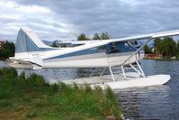 N7333N @ LHD - 1957 Dehavilland DHC-2, c/n: 1172 on Lake Hood